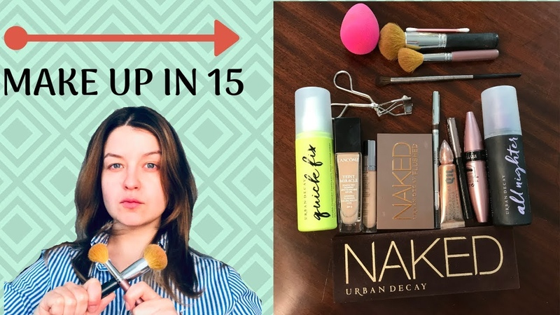 Makeup routine in 15 minutes! (well almost)