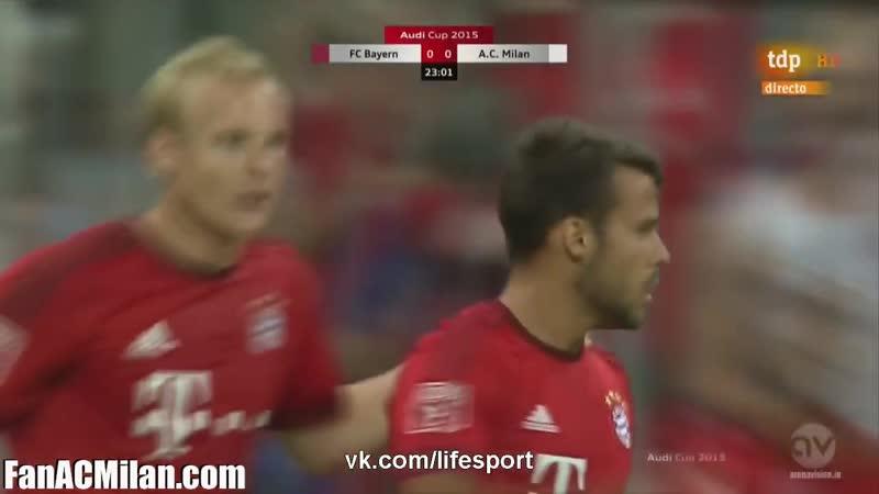 ТМ Бавария 3-0 Милан (04.08.15)
