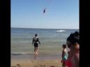 Дочка на парашуте