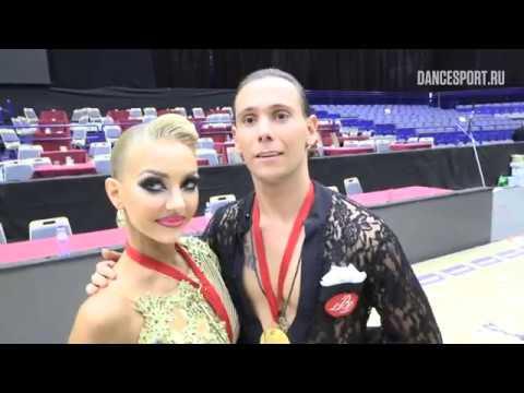 Armen Tsaturyan Svetlana Gudyno RUS interview WDSF World Championship Latin