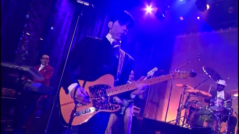 Prince - Live at The Tonight Show with Jay Leno 2002