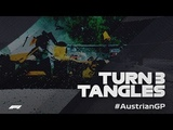 Trouble and Tangles at Turn Three Austrian Grand Prix