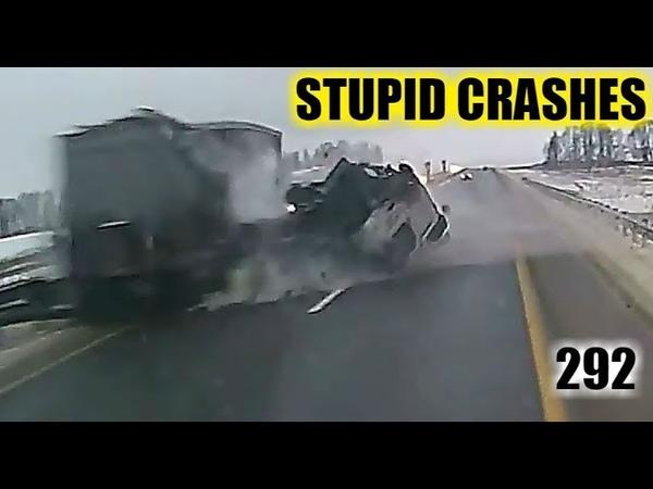 Stupid driving mistakes 292 (December 2018 English subtitles)
