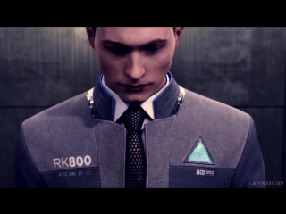 Connor [Detroit- Become Human] - Commander [Day 26 - Try to imitate someone elses style]