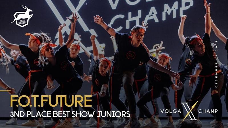 VOLGA CHAMP X | BEST SHOW JUNIORS | 3rd place | F.O.T. FUTURE