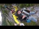 Quand un breton s'envoie en l'air avec son accordéon