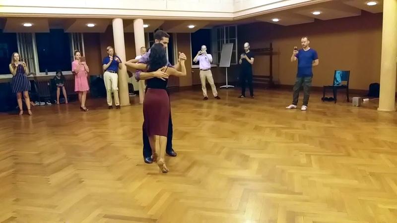 Tango advance class resume 130818 Santiago Juliana