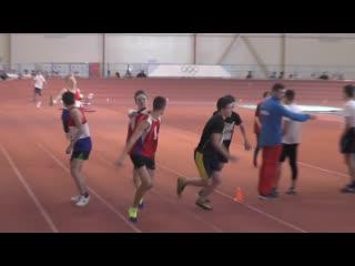 Юноши 5 забег- Гимназия 1 (2) - Первенство города по эстафетному бегу 2019