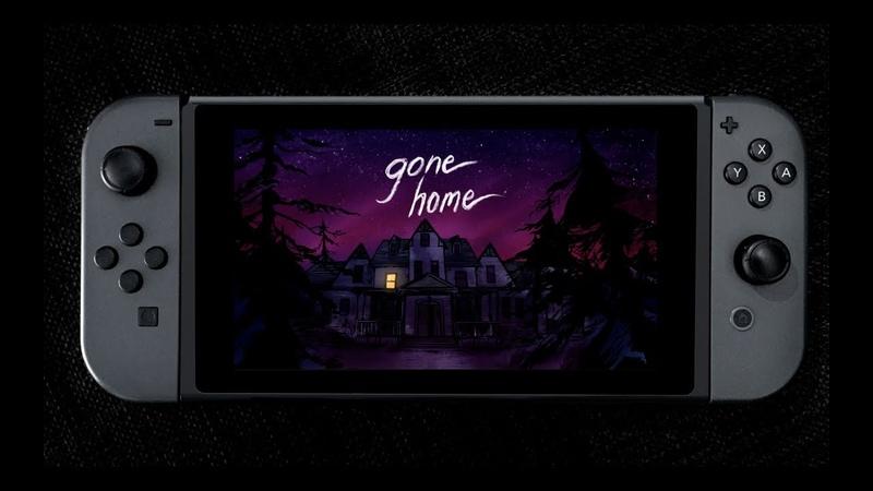 GONE HOME   Трейлер анонса на Nintendo Switch