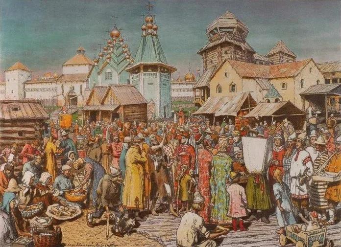 Торговля в Древнем Новгороде