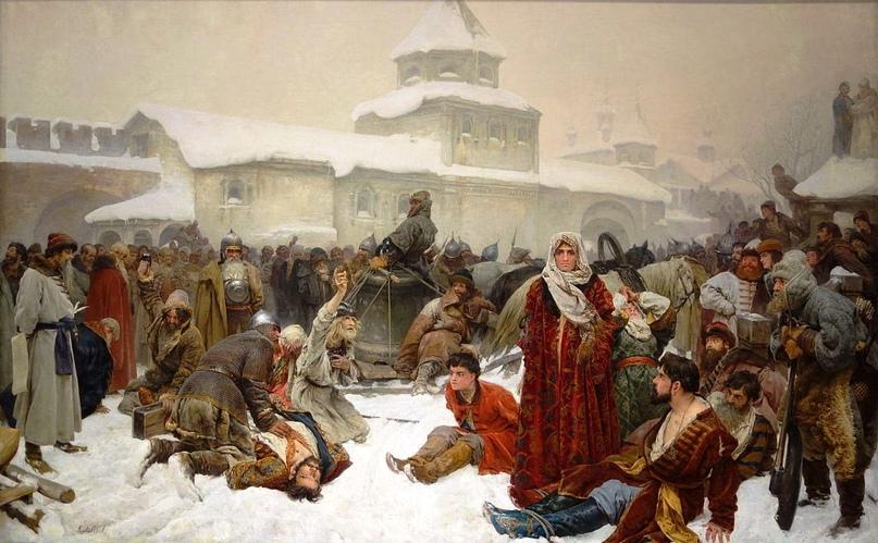 К. И. Лебедев Марфа Посадница Уничтожение Новгородского веча