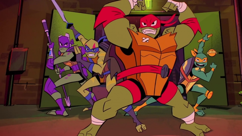 Черепашки-Ниндзя: Восстание / Rise of The Teenage Mutant Ninja Turtles.1 сезон.Трейлер (2018) [1080p]