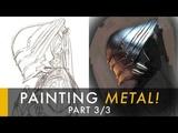 How to Paint Metal 33 - Dark Metal