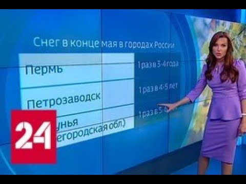 Погода 24 лето начинается с заморозков - Россия 24