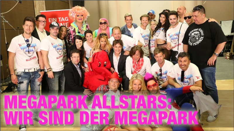 Megapark Allstars: Wir sind der Megapark [Offizielles Musikvideo]