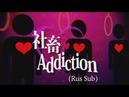Eve feat Hatsune Miku Shachiku♡Addiction Rus Sub