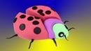 ЛедиБаг Радужный Дом ЯБЛОКО из Кинетического песка Видео для детей