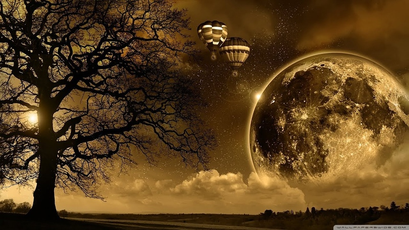 Downtempo Full Moon Ambient :: Chillout Ambient mix ▸ by Mrt Klc