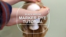 Black Widow Marker Dye Tutorial