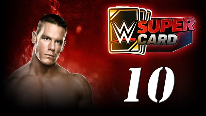 WWE SUPERCARD Карточные бои! №10 Android