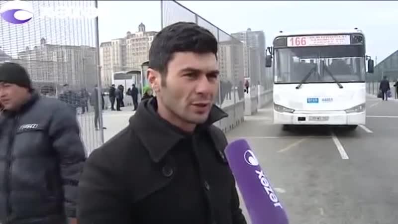 В Баку зафиксирован очередной случай пренебрежительного отношения водителя автобуса к пассажирам Азербайджан БАКУ BAKU Карабах