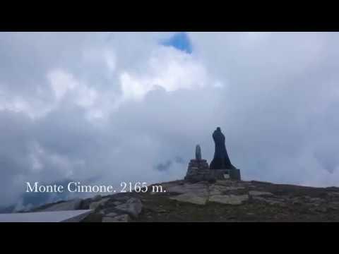 Поход на Monte Cimone, 2165 m. Toscana, Italia.