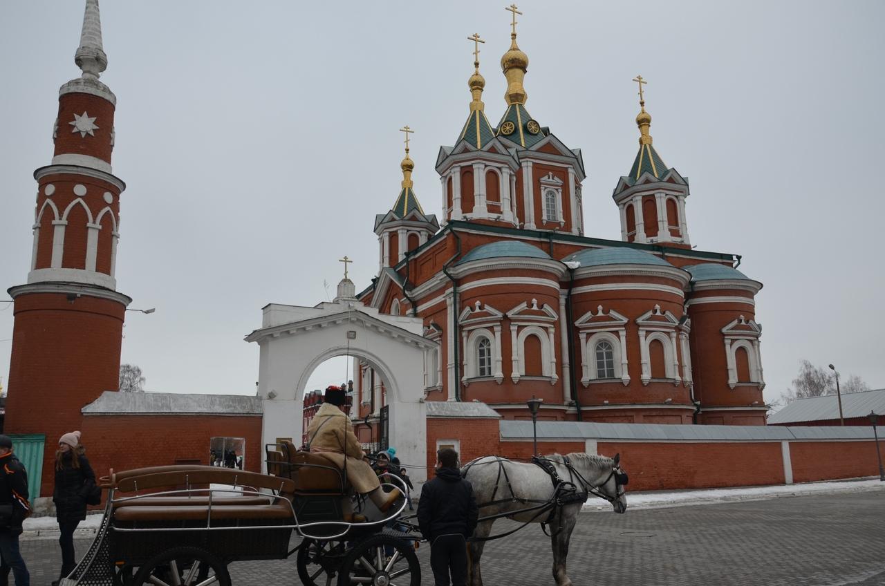 Sb8C46ZsYU4 Коломна и Коломенский кремль.