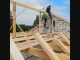 Принципиальный монтаж стропильной системы - Заметки строителя