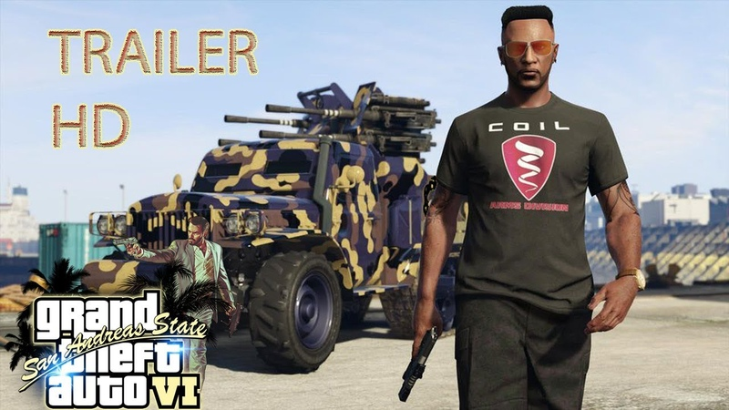 GTA 6 - Grand Theft Auto VI: Official Gameplay Video PC/PS4/XONE Preview Trailer