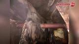 Сгорел строительный вагончик
