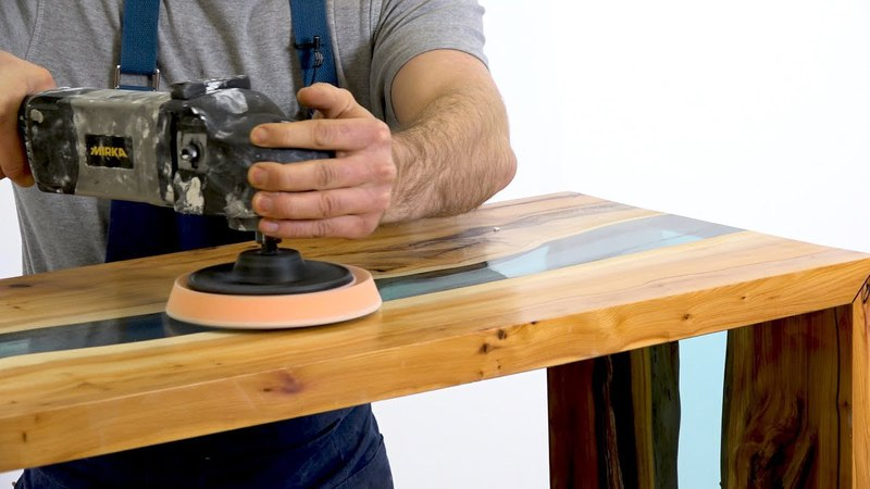 How to Make a Resin River Table Step by Step