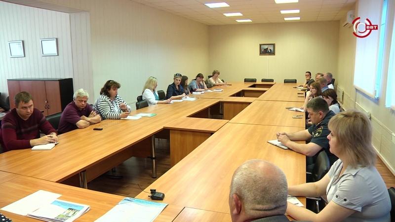 Заседание оргкомитета по подготовке к проведению КТФ Вышневолоцкие волны