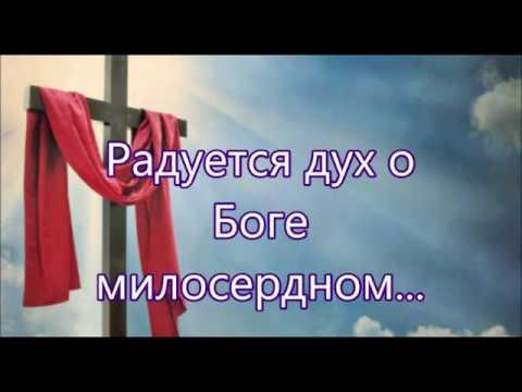 Радуется дух о Боге милосердном - Песня Посвящение
