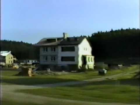 Przejazd z Gościcina do Wejherowa r 1988