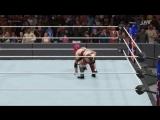 WWE 2K18 - Asuka vs. AJ Styles