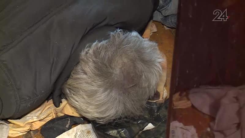 В казанском общежитии обнаружили полуобнаженный труп мужчины