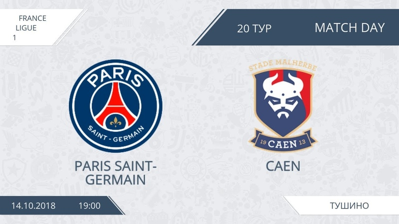 AFL18. France. Ligue 1. Day 20. PSG - Caen
