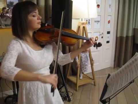 Марина Корсакова — Тихая ночь (violin version)