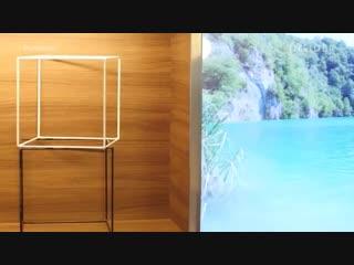 Transparent OLED TV