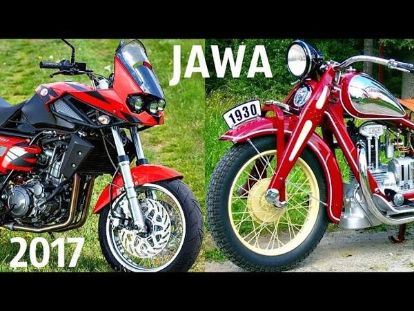 ✅ Мотоциклы JAWA 1929 - 2017 ! Все Модели в ОДНОМ Видео 👌!