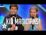LITTLE MAGICIANS These Kids Know A Trick Or Two! Kid Magic On Got Talent