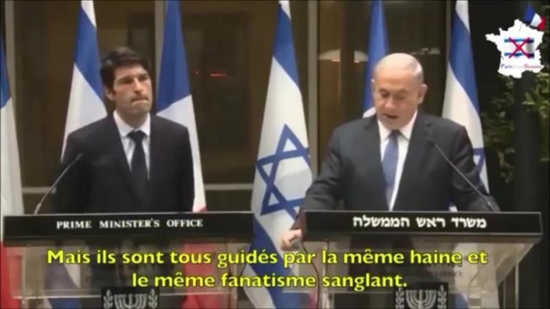 Benyamin Netanyahou : Déclaration de guerre contre l'Islam