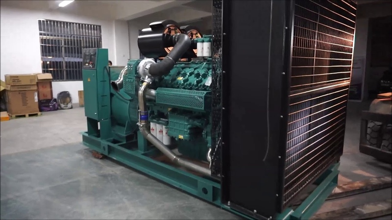 800KW 1000KVA Diesel Generator China Wuxi Engine Engga Alternator