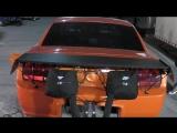 Sneak Peek of Boosed GT New Big Tire car at the finale of No Prep Kings In Tulsa