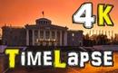 TimeLapse 4K. Вечерний Дзержинск 2016. Закат. Проспект Циолковского.