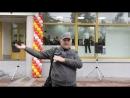 Витебск. Зажигательный танец на улице Замковой