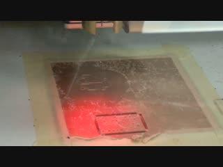 Изготовление печатной платы фрезерованием (Институт РТС)