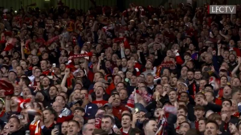 Inside Anfield Liverpool - PSG