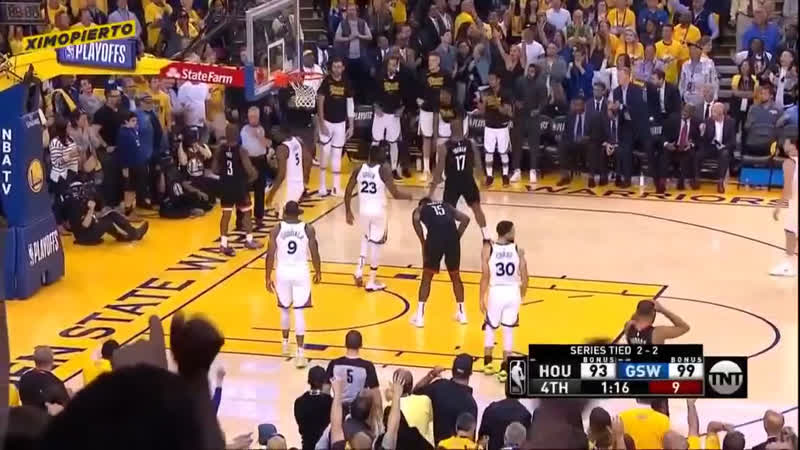 Rocets vs Golden State