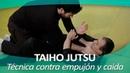 TAIHO JUTSU 8 sistema japonés defensa personal policial Técnica contra empujón y caída